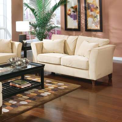 Wildon Home ® Cumberland Grove Velvet Loveseat