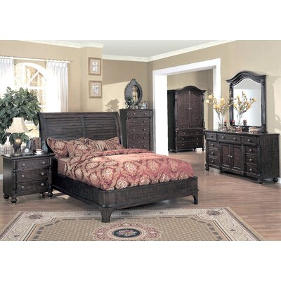 Wildon Home ® Edinburgh Sleigh Bedroom Collection