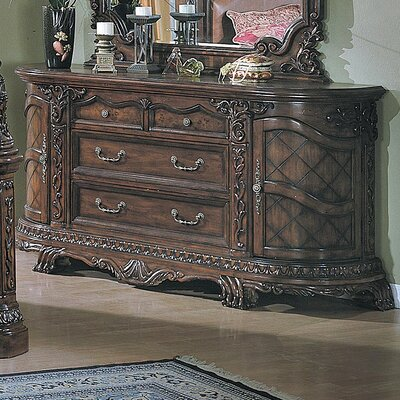 Wildon Home ® Stephano 9 Drawer Combo Dresser