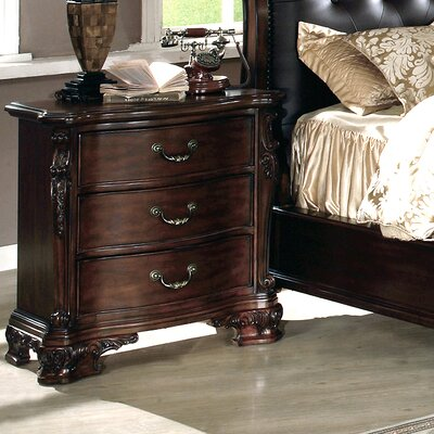 Wildon Home ® Dasan 3 Drawer Nightstand