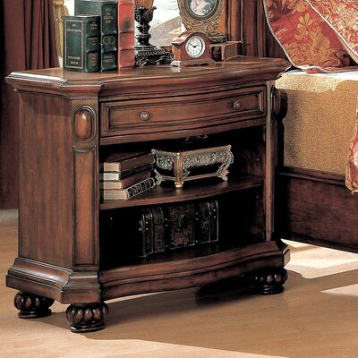 Wildon Home ® Wrigley 1 Drawer Nightstand
