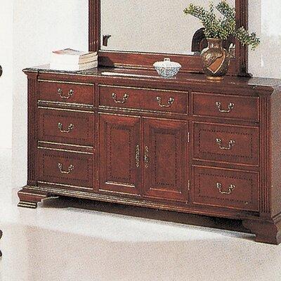 Audrey 7 Drawer Combo Dresser