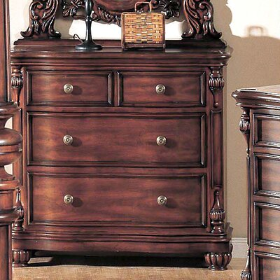 Wildon Home ® Corina 9 Drawer Small Chest