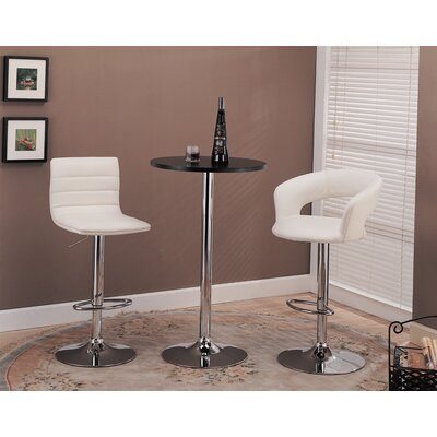 Wildon Home ® Colorado City Pub Table with Black or Glass Top