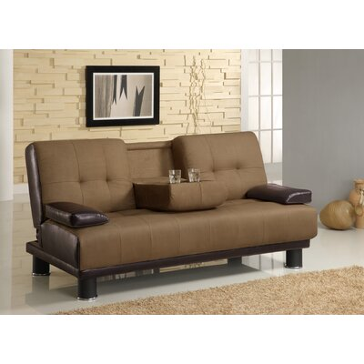 Wildon Home ® Turret Convertible Sleeper Sofa