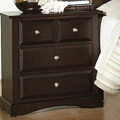 Wildon Home ® Nantucket 4 Drawer Nightstand