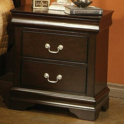 Wildon Home ® Litchfield Park 2 Drawer Nightstand