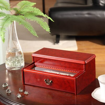 Wildon Home ® Cosmopolitan Two Drawer Jewelry Box