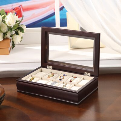 Wildon Home ® Time Ten Piece Watch Box