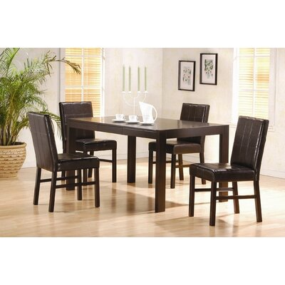 Wildon Home ® Exeter 5 Piece Dining Set