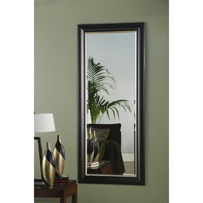 Wildon Home ® Waitsburg Mirror in Black and Silver