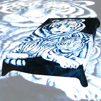 Wildon Home ® Acrylic Mink Duke Tigers Blanket