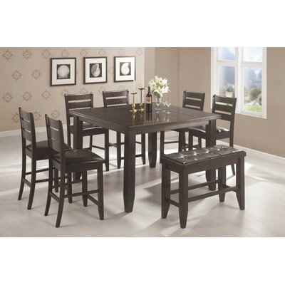 Wildon Home ® Corrigan 8 Piece Counter Height Dining Set