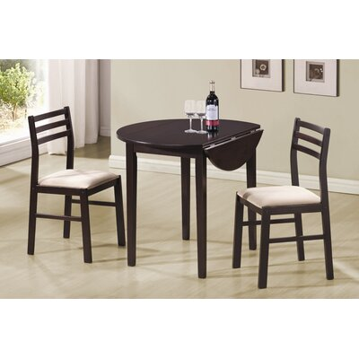 Wildon Home ® Lexington 3 Piece Dining Set