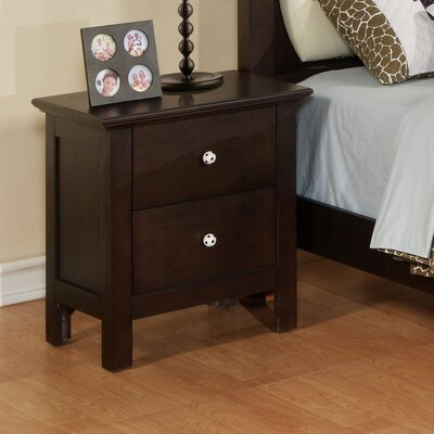 Wildon Home ® Allstar Soccer 2 Drawer Nightstand
