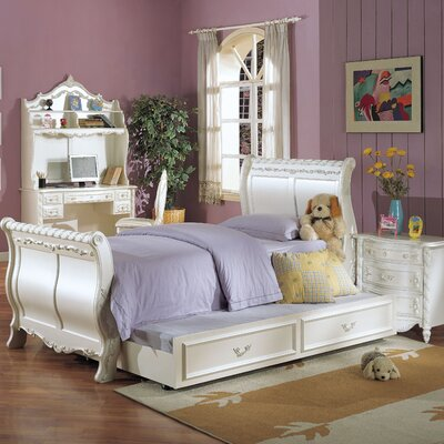 Wildon Home ® Pearl Sleigh Bedroom Collection