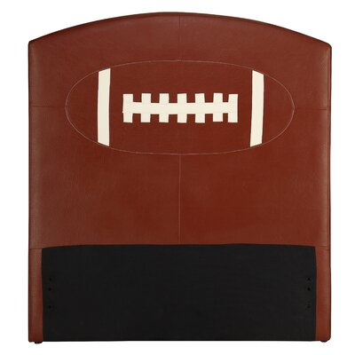 Wildon Home ® All Star Football Twin Upholstered Kids Headboard