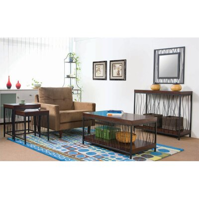 Wildon Home ® Wire Design Coffee Table Set