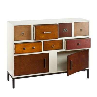 Wildon Home ® 7 Drawer Console