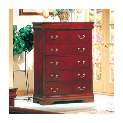 Louis 5 Drawer Chest
