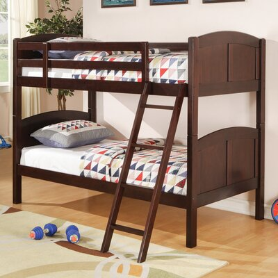 Wildon Home ® Oberon Twin over Twin Bunk Bed