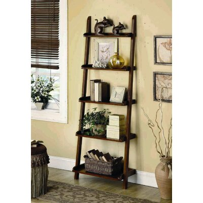 "Wildon Home ® Leaning 76"" Bookcase"