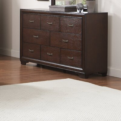 Wildon Home ® Adams 8 Drawer Dresser