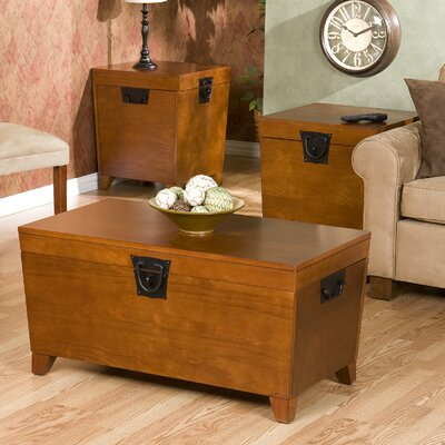 Wildon Home ® Danville 3 Piece Trunk Coffee Table Set