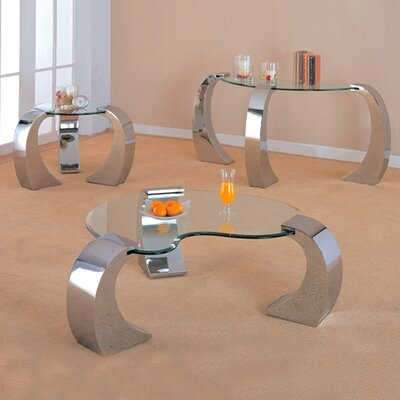 Wildon Home ® Clayton Coffee Table Set