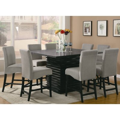 Wildon Home ® Brownville 9 Piece Counter Height Dining Set