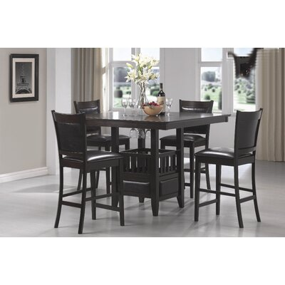Wildon Home ® Forsan 5 Piece Counter Height Dining Set