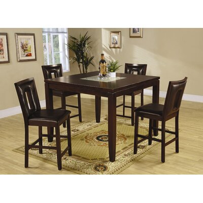 Wildon Home ® Grandfalls 5 Piece Counter Height Dining Set