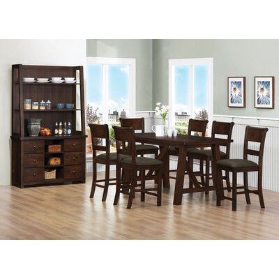 Wildon Home ® Julius 7 Piece Counter Height Dining Set