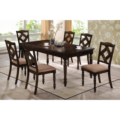 Wildon Home ® 7 Piece Dining Set