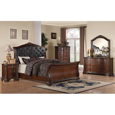 Wildon Home ® Martone Sleigh Bedroom Collection | Wayfair
