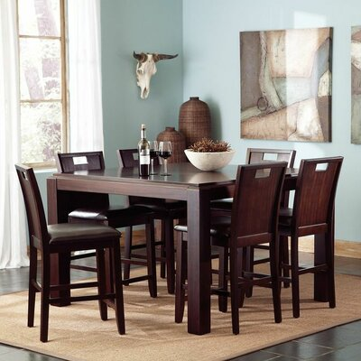 Wildon Home ® Beacon 7 Piece Counter Height Dining Set