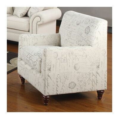 Wildon Home ® Capetown Linen Blend Chair