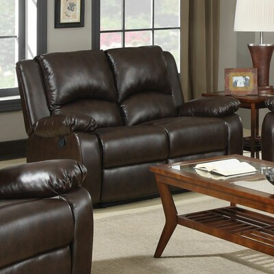 Wildon Home ® New York Reclining Loveseat