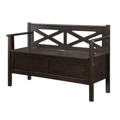 Wildon Home ® Wood Entryway Storage Bench | Wayfair
