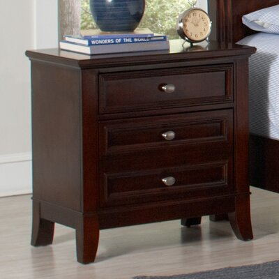 Wildon Home ® Banks 3 Drawer Nightstand
