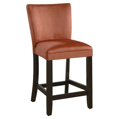 "Wildon Home ® 24"" Bar Stool in Terracotta"