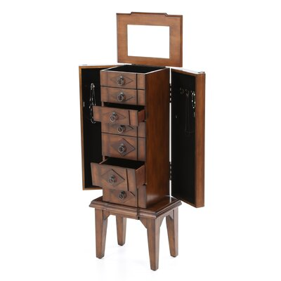 Wildon Home ® Canen Jewelry Armoire