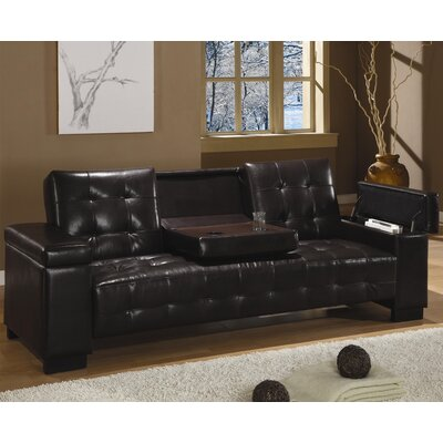 Wildon Home ® San Diego Vinyl Sleeper Sofa