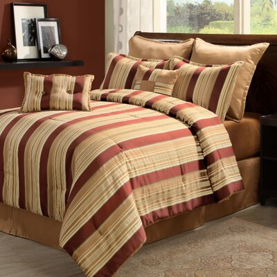 Wildon Home ® Oasis Break-Up 8 Piece Comforter Set