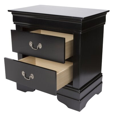 Wildon Home ® Thatcher 2 Drawer Nightstand