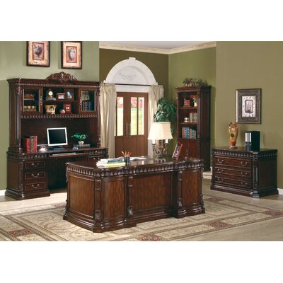 Wildon Home ® Corning Bookcase in Walnut