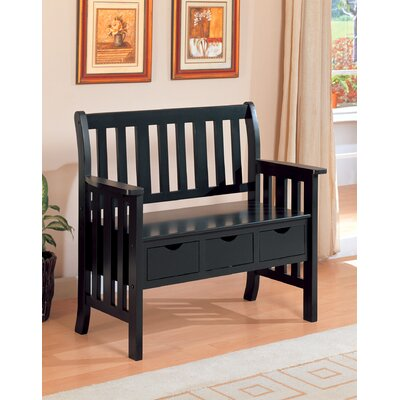 Wildon Home ® Upland Wooden Entryway Storage Bench | Wayfair