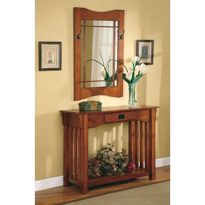 Wildon Home ® Burien Console Table and Mirror Set