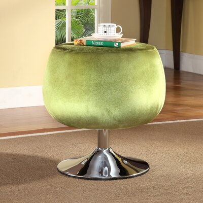 Wildon Home ® Velvet Cocktail Ottoman