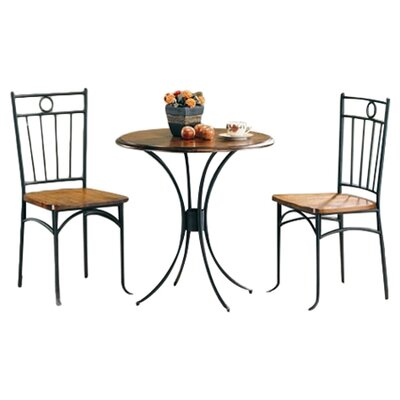 Wildon Home ® Beaverton 3 Piece Dining Set